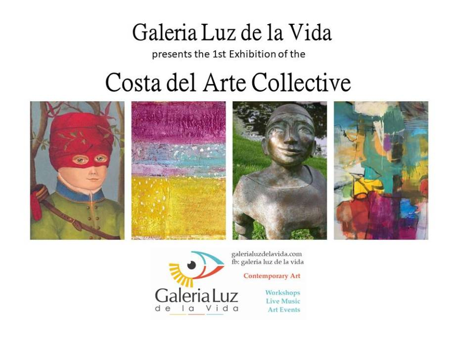 Costa del Arte Collective goes public! Visit our exhibition till 16.09. in Cómpeta!