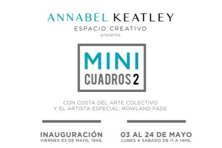 Costa del Arte Collective goes MINI – come and visit the exhibition MINI CUADROS in Almuñécar inMay!