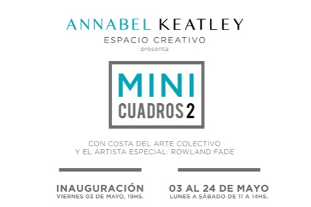 Costa del Arte Collective goes MINI – come and visit the exhibition MINI CUADROS in Almuñécar in May!