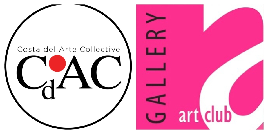 Shows the Logo of Costa del Arte Collective and Gallery Art Club